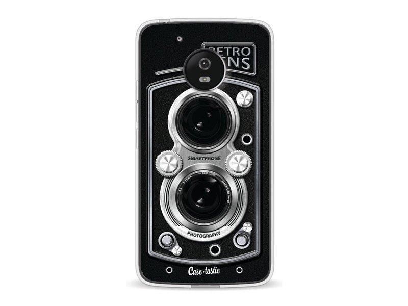 Casetastic Softcover Motorola Moto G5 - Camera Retro Lens