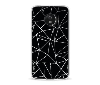 Abstract Dotted Lines Black - Motorola Moto G5