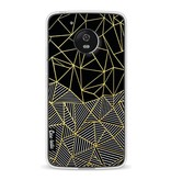 Casetastic Softcover Motorola Moto G5 - Abstraction Half Half Gold