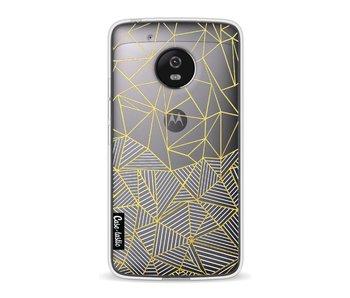 Abstraction Half Half Transparent - Motorola Moto G5