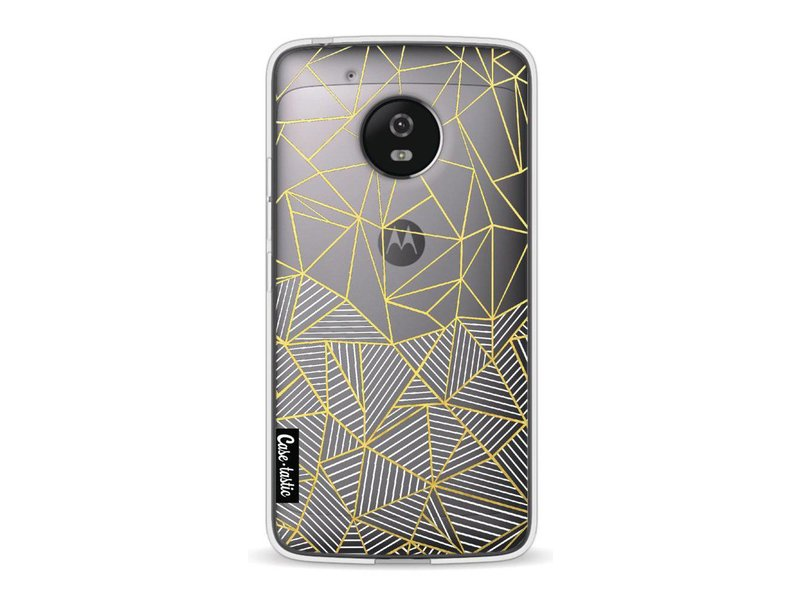 Casetastic Softcover Motorola Moto G5 - Abstraction Half Half Transparent