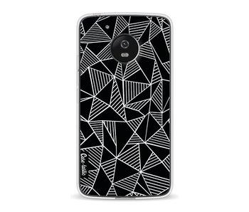 Abstraction Lines Black - Motorola Moto G5