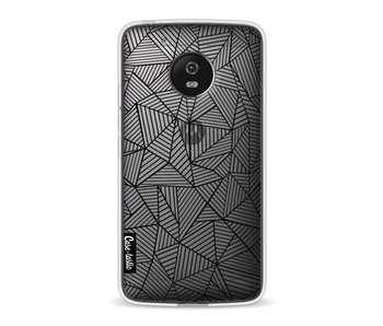 Abstraction Lines Transparent - Motorola Moto G5