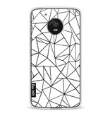 Casetastic Softcover Motorola Moto G5 - Abstraction Outline