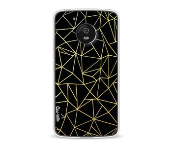 Abstraction Outline Gold - Motorola Moto G5