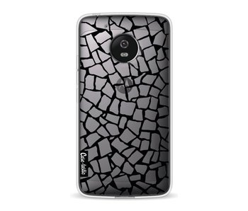 British Mosaic Black Transparent - Motorola Moto G5