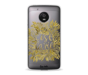 Cest La Vie Gold - Motorola Moto G5