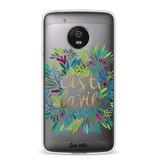 Casetastic Softcover Motorola Moto G5 - Cest La Vie Multi