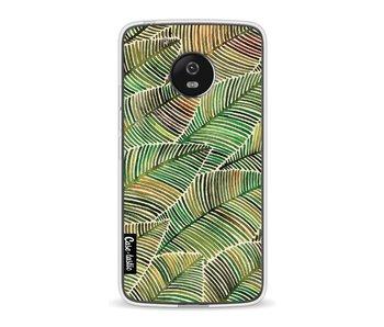 Tropical Leaves Yellow - Motorola Moto G5