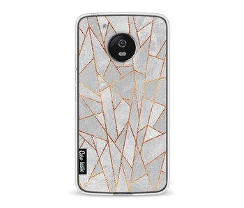 Shattered Concrete - Motorola Moto G5