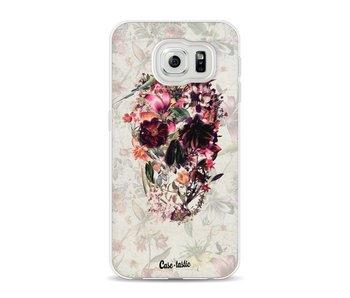 Flower Skull - Samsung Galaxy S6