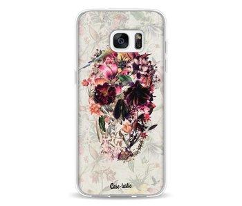 Flower Skull - Samsung Galaxy S7 Edge