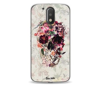 Flower Skull - Motorola Moto G4 / G4 Plus