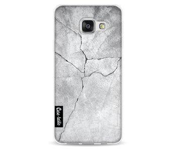 Cracked Concrete - Samsung Galaxy A3 (2016)