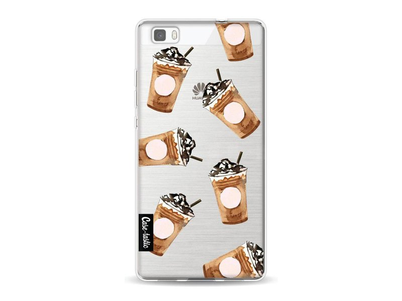 Casetastic Softcover Huawei P8 Lite - Coffee To Go