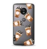 Casetastic Softcover Motorola Moto G5 - Coffee To Go