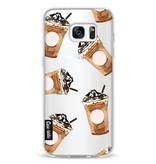 Casetastic Softcover Samsung Galaxy S7 Edge - Coffee To Go