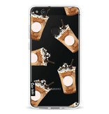 Casetastic Softcover Huawei P10 Lite - Coffee To Go