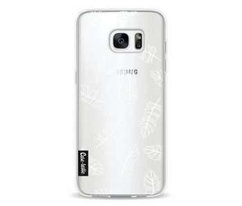 Feathers Outline - Samsung Galaxy S7 Edge