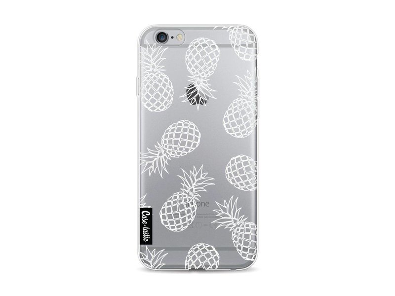 Casetastic Softcover Apple iPhone 6 / 6s - Pineapples Outline