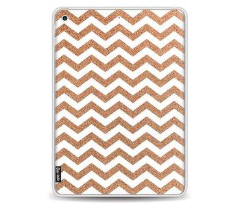 Copper Chevron - Apple iPad 9.7 (2017)