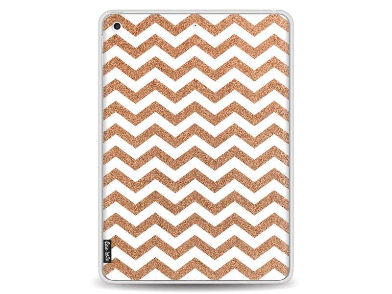 Casetastic Softcover Apple iPad 9.7 (2017) - Copper Chevron