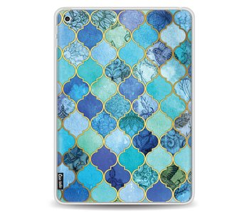 Aqua Moroccan Tiles - Apple iPad 9.7 (2017)