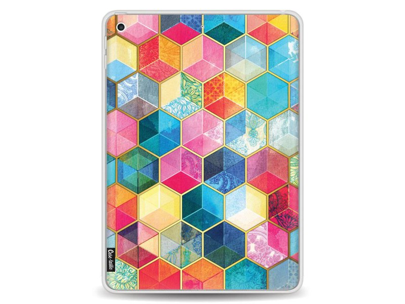 Casetastic Softcover Apple iPad 9.7 (2017) - Bohemian Honeycomb