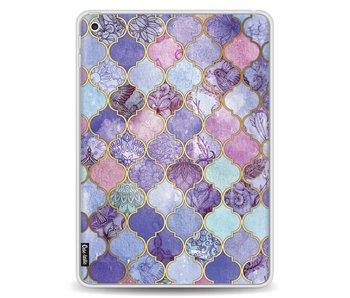 Purple Moroccan Tiles - Apple iPad 9.7 (2017)