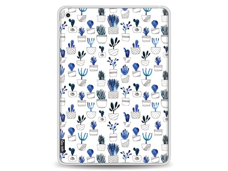 Casetastic Softcover Apple iPad 9.7 (2017) - Blue Cacti