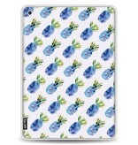 Casetastic Softcover Apple iPad 9.7 (2017) - Blue Pineapples
