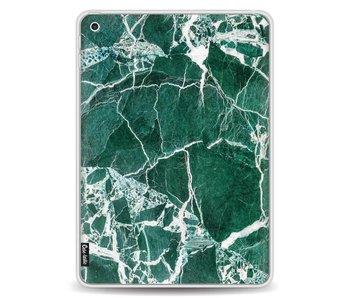 Dark Green Marble - Apple iPad 9.7 (2017)