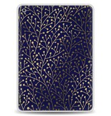 Casetastic Softcover Apple iPad 9.7 (2017) - Berry Branches Navy Gold