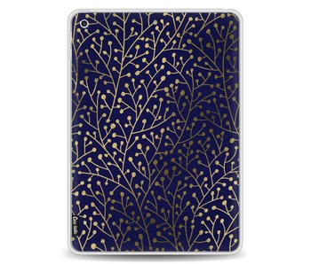 Berry Branches Navy Gold - Apple iPad 9.7 (2017)