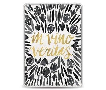 Black Vino Veritas Artprint - Apple iPad 9.7 (2017)