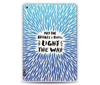 Blue Bridges Burn Burst Artprint - Apple iPad 9.7 (2017)