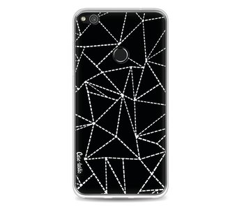 Abstract Dotted Lines Black - Huawei P8 Lite (2017)