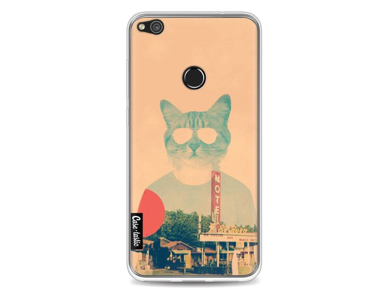 Casetastic Softcover Huawei P8 Lite (2017) - Cool Cat