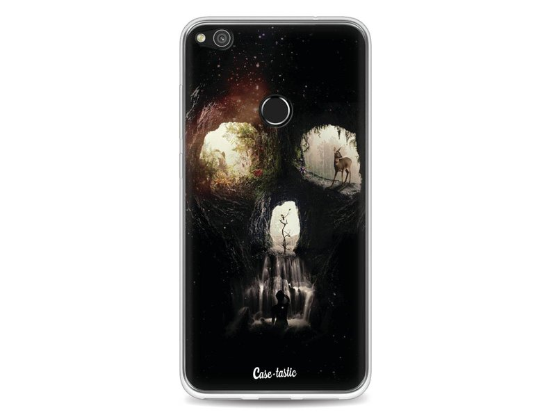 Casetastic Softcover Huawei P8 Lite (2017) - Cave Skull