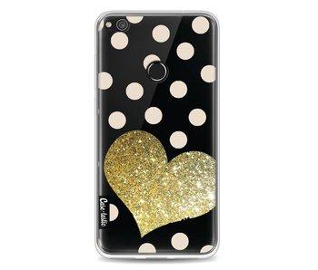 Glitter Heart - Huawei P8 Lite (2017)