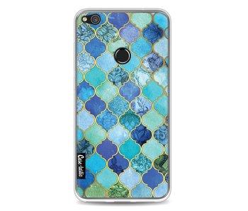 Aqua Moroccan Tiles - Huawei P8 Lite (2017)