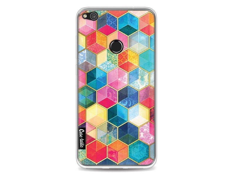 Casetastic Softcover Huawei P8 Lite (2017) - Bohemian Honeycomb