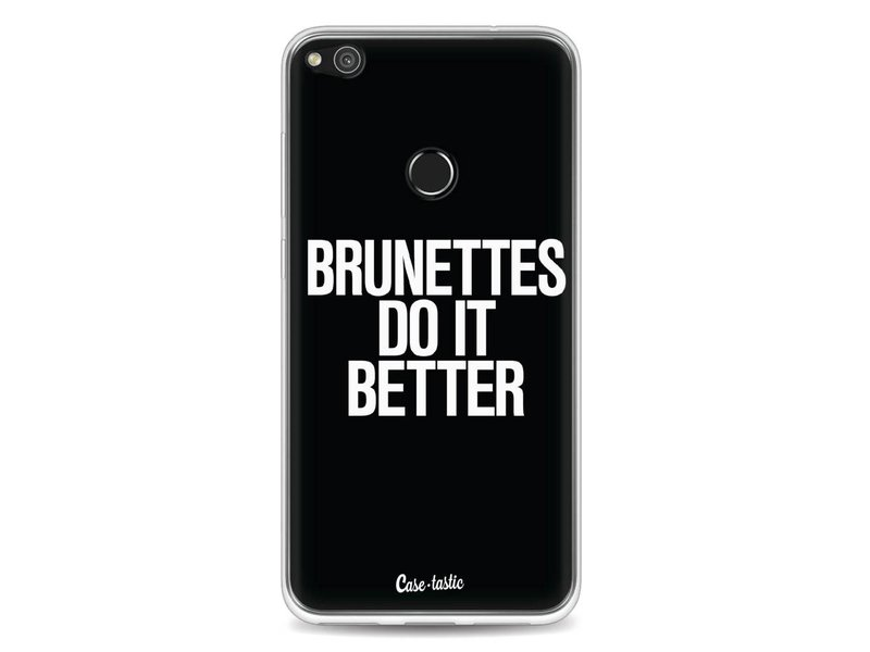 Casetastic Softcover Huawei P8 Lite (2017) - Brunettes Do It Better