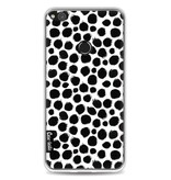 Casetastic Softcover Huawei P8 Lite (2017) - Black Dotted