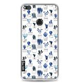 Casetastic Softcover Huawei P8 Lite (2017) - Blue Cacti
