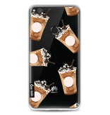 Casetastic Softcover Huawei P8 Lite (2017) - Coffee To Go