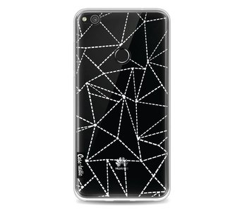 Abstract Dotted Lines Transparent - Huawei P8 Lite (2017)