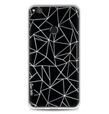 Casetastic Softcover Huawei P8 Lite (2017) - Abstraction Outline