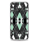 Casetastic Softcover Huawei P8 Lite (2017) - Art Deco Mint