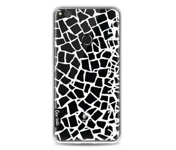 British Mosaic White Transparent - Huawei P8 Lite (2017)